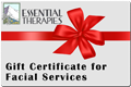 Gift Certificate Facial Services