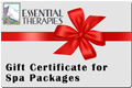 Gift Certificate Spa Packages
